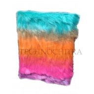 TECHNOCHITRA Unique  Multi-colored Soft Fur Cover Diary for Girls, Fur diary for Girls, Fur Notebook for Girls