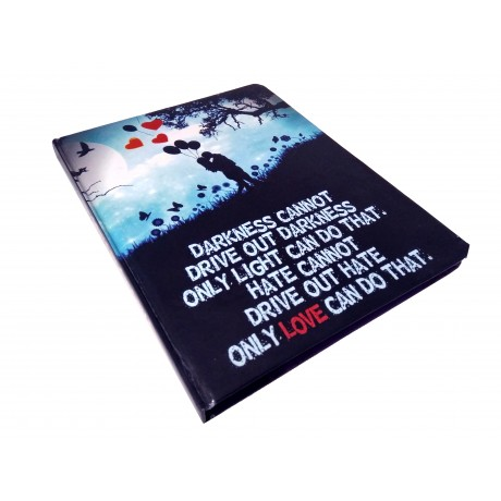 TECHNOCHITRA Exclusive LOVE Quote Printed Diary Notebook