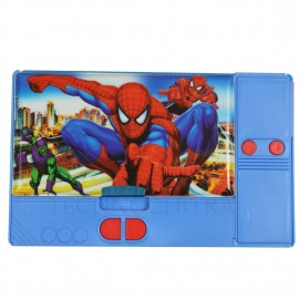 TECHNOCHITRA Spider Printed Dual Sided Jumbo Size Pencil Box