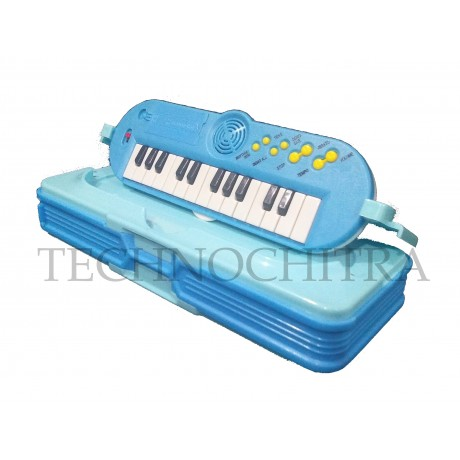 TECHNOCHITRA Exclusive Spider Printed Dual Sided pencil box with In-build Piano