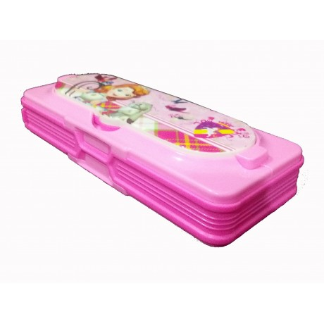 TECHNOCHITRA Exclusive Angel Printed Dual Sided pencil box with In-build Piano