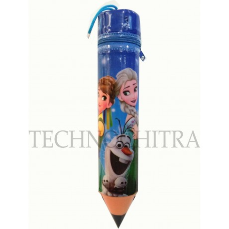 TECHNOCHITRA Unique Cute Angel Pencil Shape Pouches for Girls and Boys (MOQ - 3)