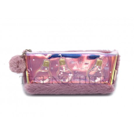TECHNOCHITRA Amazing Water and Fur Pouch for Girls, Water Fur pouches for girls