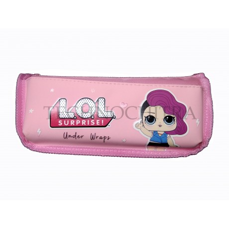 TECHNOCHITRA LOL Printed Angel Zipper Pouch for Girls, LOL Pouches for Girls
