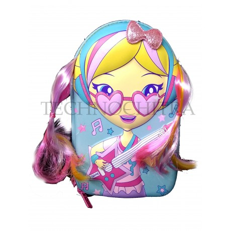 TECHNOCHITRA Premium Quality 7D Ponytail Pouches for Girls, Multipurpose Ponytail Pouch for Girls, Glasses