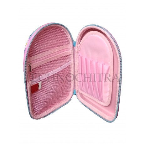 TECHNOCHITRA Premium Quality 7D Ponytail Pouches for Girls, Multipurpose Ponytail Pouch for Girls, Single