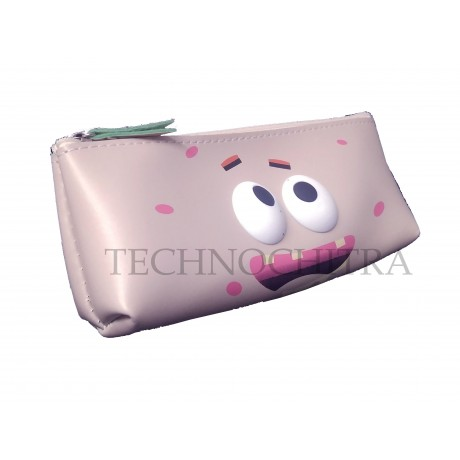TECHNOCHITRA Silicon Flexible Stationery 7D Eyes Pouch for Kids, Zipper Pouch for kids