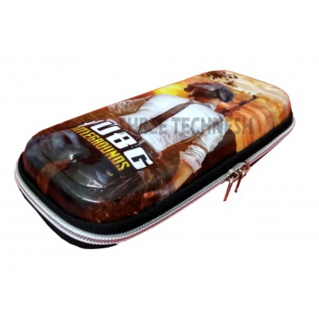 TECHNOCHITRA 7D PubG Characters Printed Pouches, PubG Printed Zipper Pouches, PubG stationery Pouches, Shooter