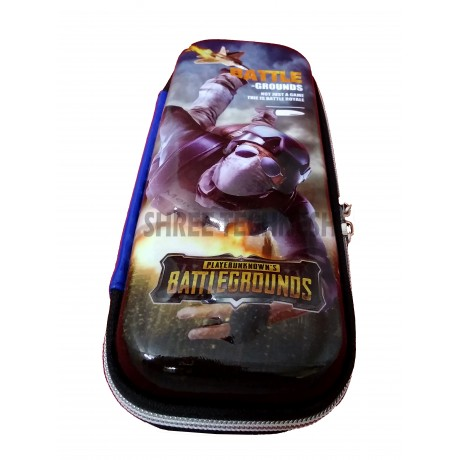 TECHNOCHITRA 7D PubG Characters Printed Pouches, PubG Printed Zipper Pouches, PubG stationery Pouches, Air Shooter