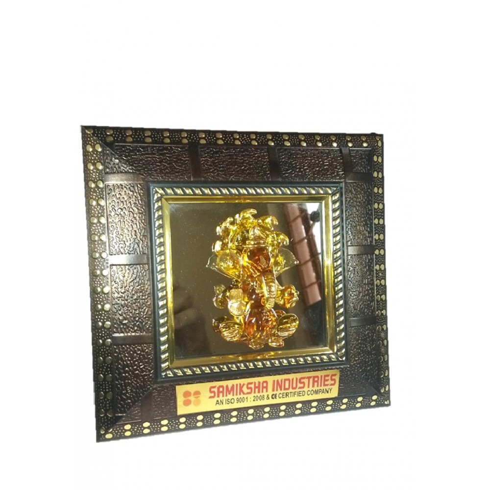 Ganesh Ji Frame With Mirror -05