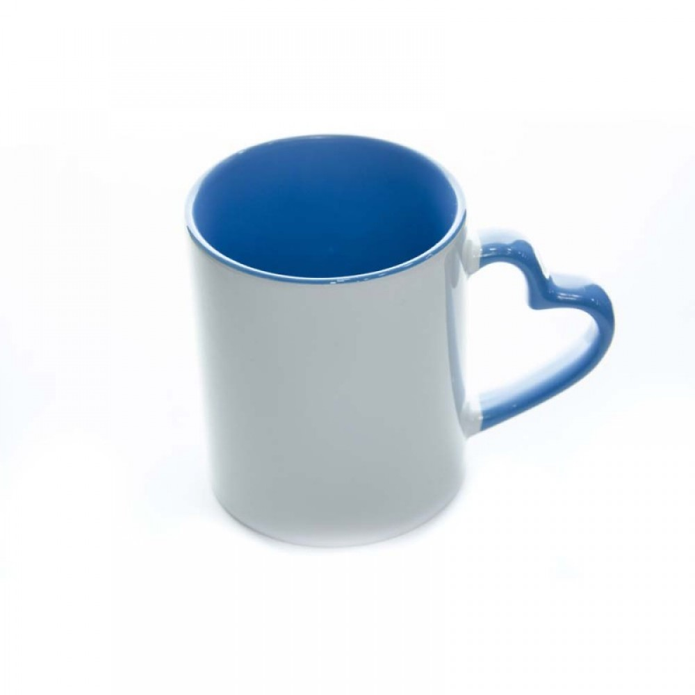 Heart Shape Handle Mug - 01