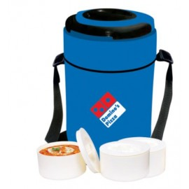 Big Tiffin Box With 3 Microwave Container - 16