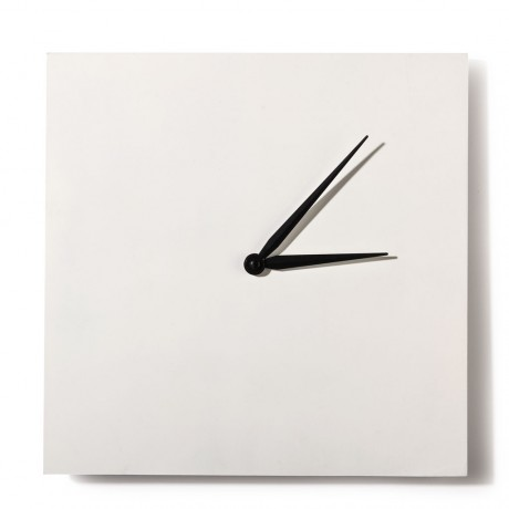 TECHNOCHITRA PERSONALISED SQUARE SHAPE WALL CLOCK 8/9 INCHES