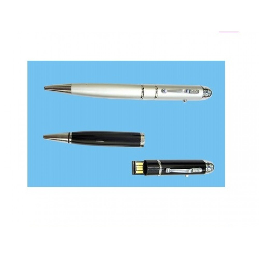 Pen Drive Pen With Laser Pointer -03
