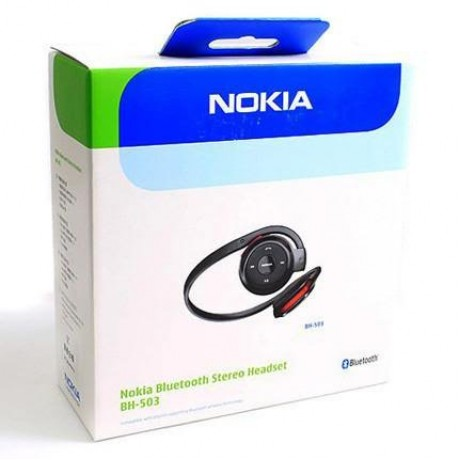 NOKIA  BLUETOOTH STEREO HEADSETS BH-503 FOR NOKIA AND OTHER SMARTPHONE