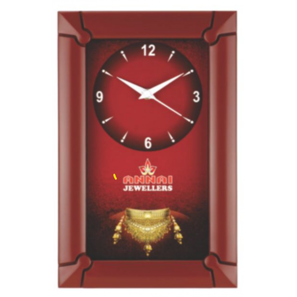 Rectangular Wall Clock - 02