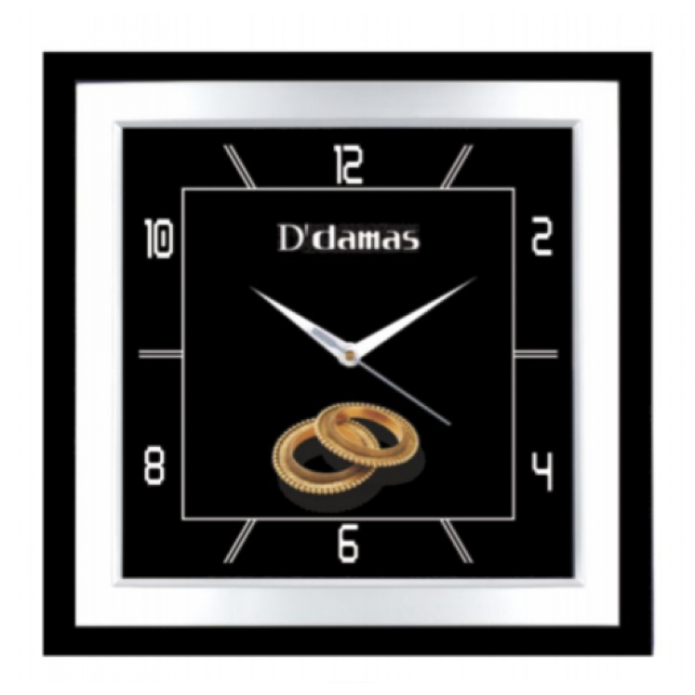 Square Wall Clock - 13