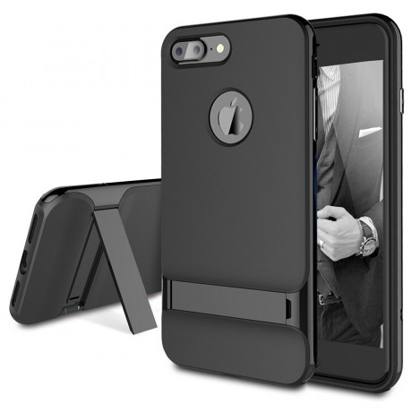 Rock  KickStand Case Dual layer Back Cover Case for Apple iPhone 7
