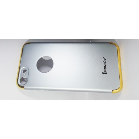 I phone 7 back cover with golden boundry with round cut