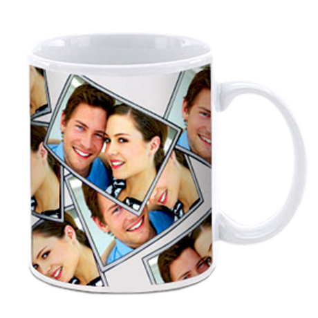 White Plain Mugs